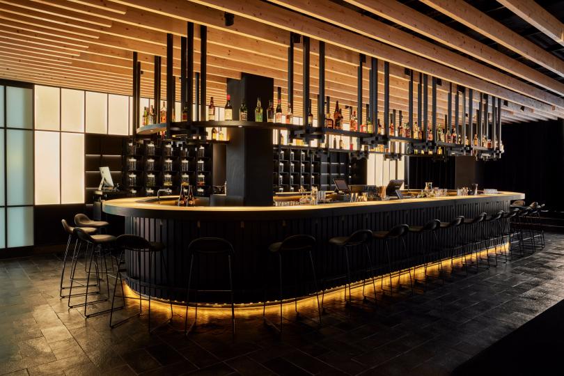 Пример дизайна мебели для ресторана фото №1