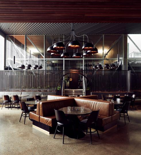 Пример дизайна мебели для ресторана фото №3