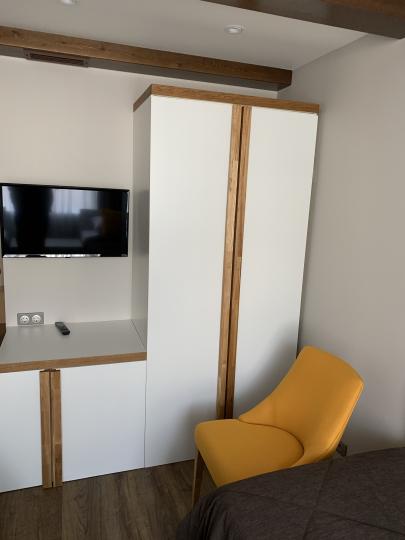 Пример мебели MebelExpert изготовленной для учебного центра (оранжевая) фото №7