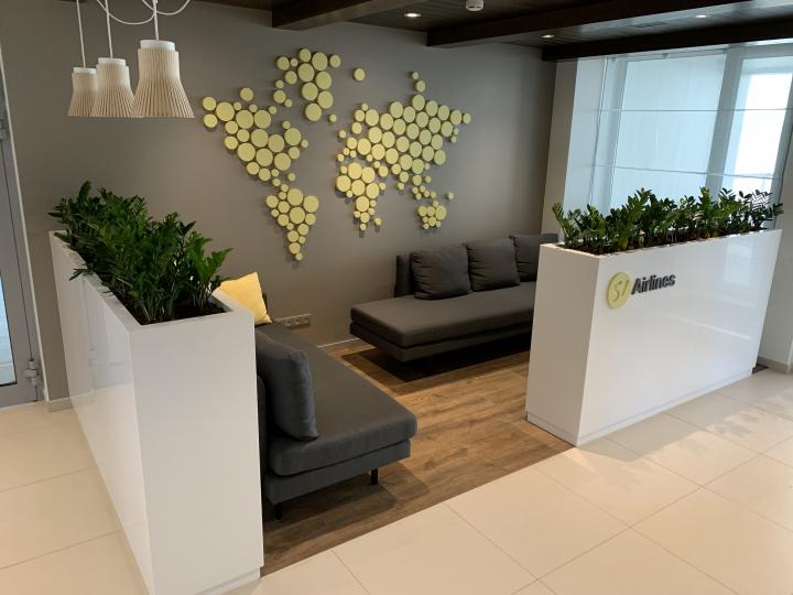 Пример мебели MebelExpert изготовленной для учебного центра (жёлтая) фото №2