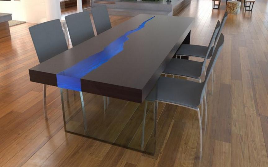 Пример мебели из полимеров фото №3