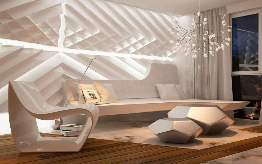 Пример мебели из полимеров фото №7