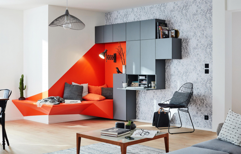 Пример изготовления модульной мебели на заказ фото №1