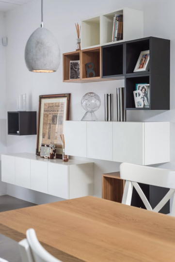 Пример изготовления модульной мебели на заказ фото №8