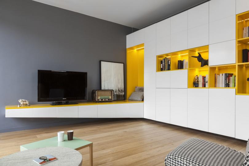 Пример изготовления модульной мебели на заказ фото №9